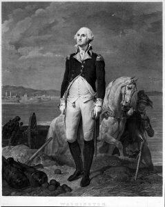 George Washington and Horse