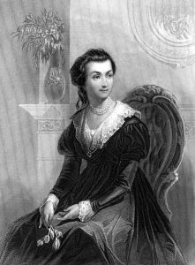 Abigail Adams as a young woman