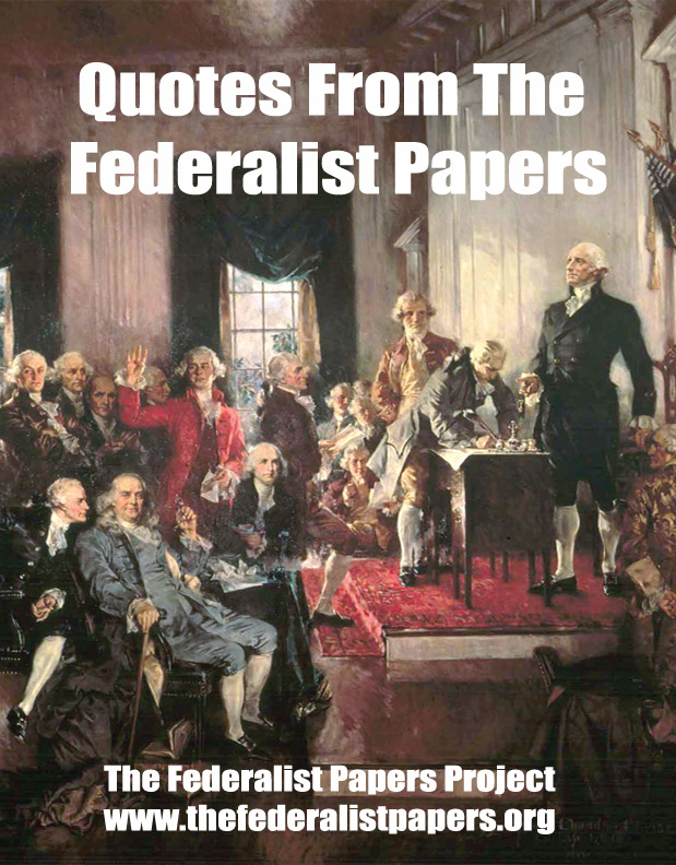 essays on the federalist papers Perfect prep for the federalist papers (1787-1789) 3 what was the original purpose of the publication of essays contained in the federalist.