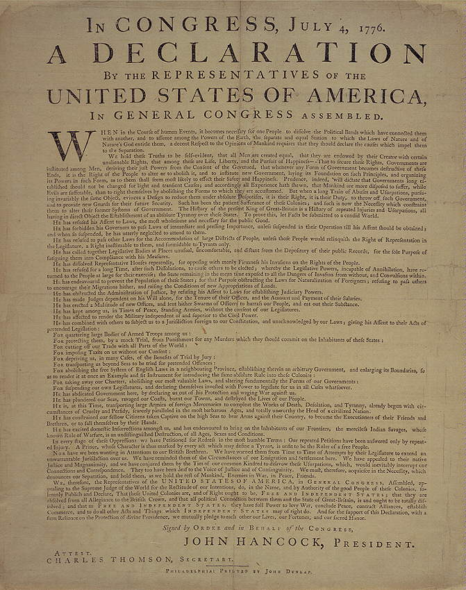 is the declaration of independence respected He was also well respected by his colleagues before the vote on the declaration the declaration of independence.