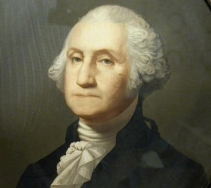 George Washington Quote, spark of celestial fire called conscience
