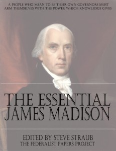 The Essential James Madison edited by Steve Straub book cover