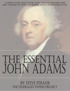The Essential John Adams edited by Steve Straub book cover
