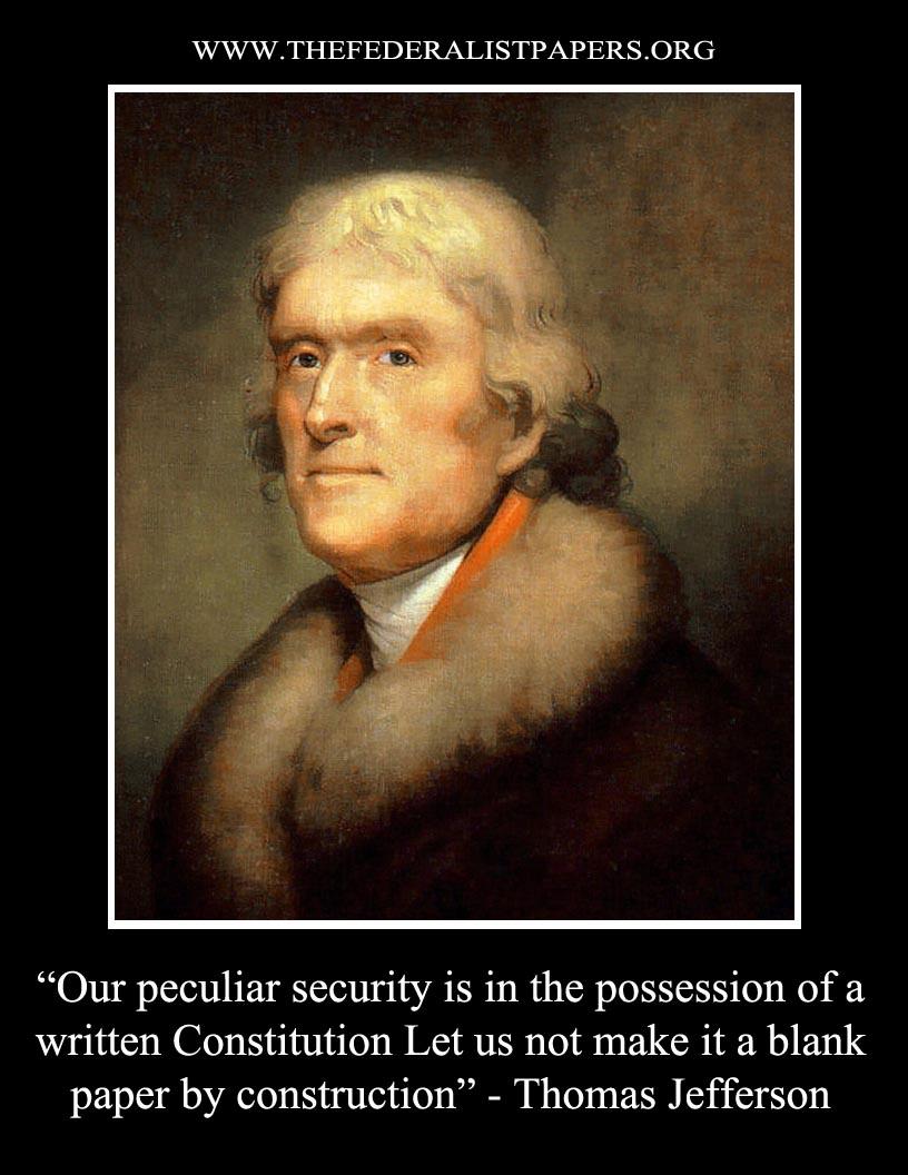 essay on Thomas Jefferson