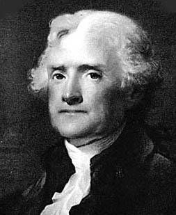 Thomas Jefferson Quote, Portrait of Thomas Jefferson