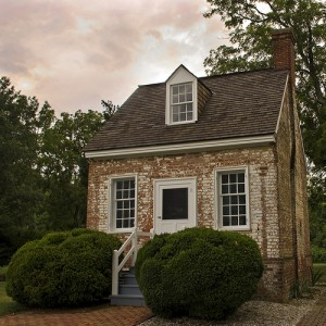 colonial school house