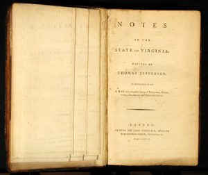 Thomas Jefferson, Notes on the State of Virginia, Query XIV, Copy of original
