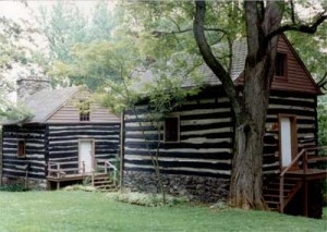 Slave cabins in America