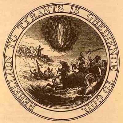 Rebellion to Tyrants is Obedience to God, Benjamin Franklin