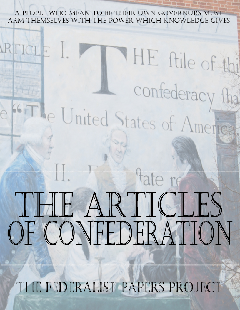 The Articles of Confederation – Article 4