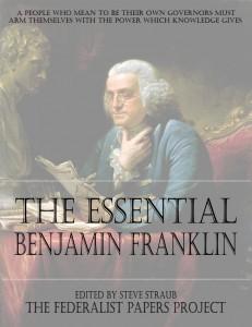 The Essential Benjamin Franklin edited by Steve Straub book cover