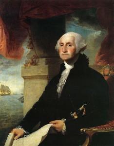 President George Washington Sitting