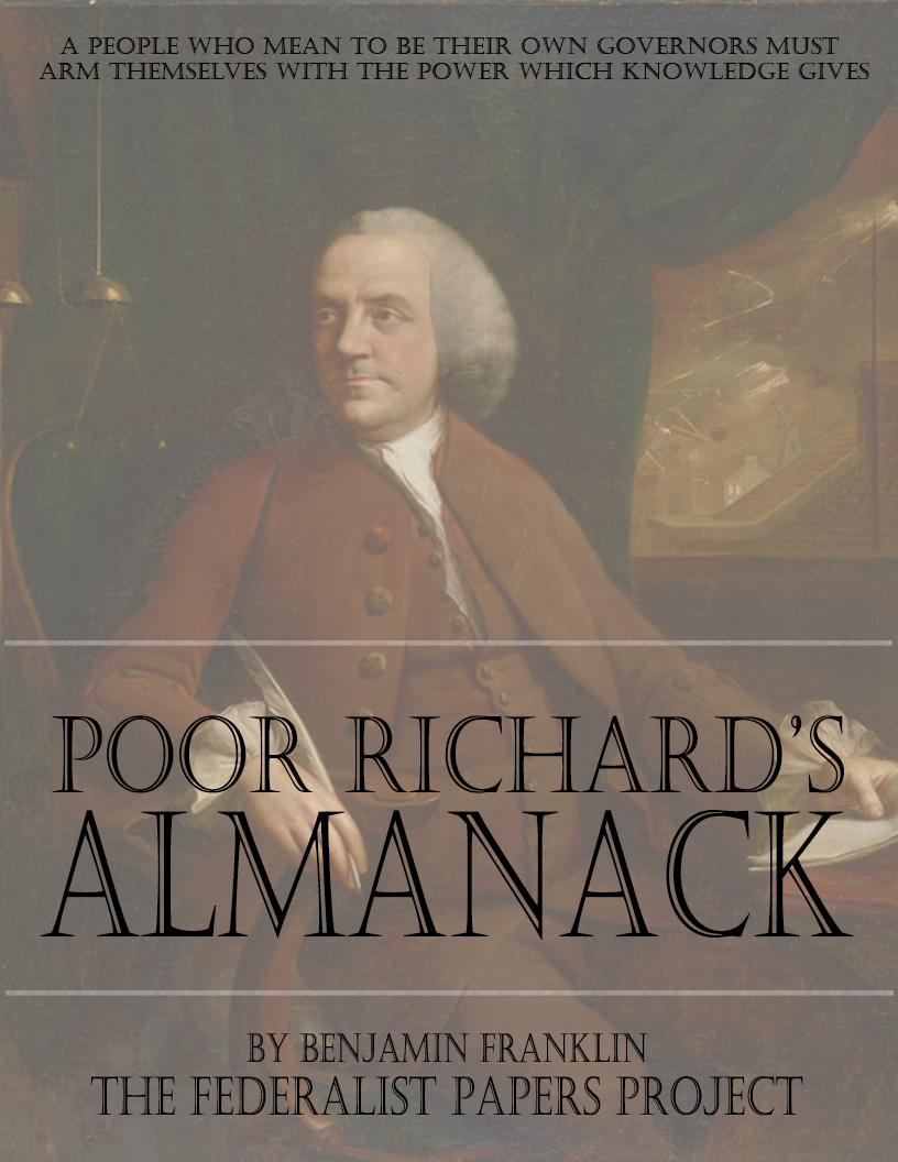 honesty as the best policy in benjamin franklins poor richards almanack Benjamin wade topic benjamin franklin bluff  butler is best known as a political major general of the  poor richard's almanack was also popular for its.