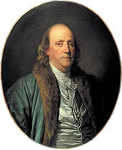 Benjamin Franklin, Portrait, FROM THE ABBE FRANKLIN TO THE ABBE MORELLET