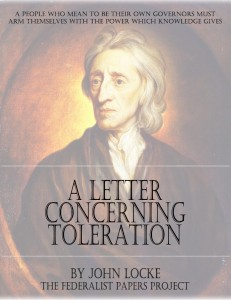 A Letter Concerning Toleration By John Locke Free Ebook