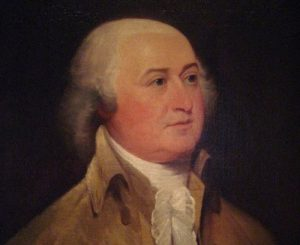 John Adams, Young