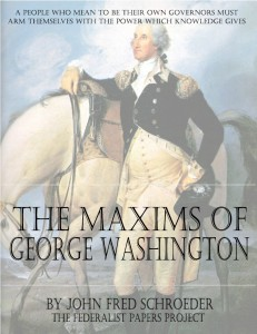 The Maxims of George Washington Book Cover