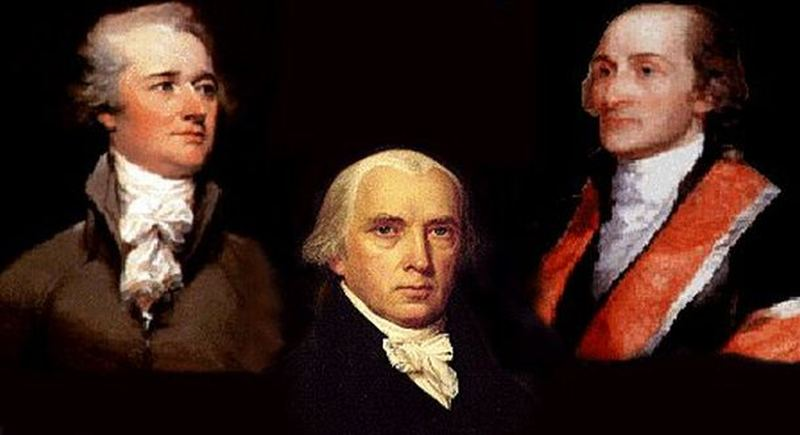 arguments in favor of a strong federal branch in the federalist papers written by jason madison john Federalists vs anti-federalists from 1787-1790 the development of the american constitution was a battle between two opposing political philosophies america's.