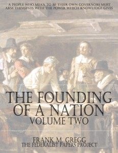 The Founding of a Nation; The Story of the Pilgrim Fathers - Volume Two Book Cover