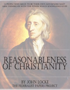 The Reasonableness of Christianity by John Locke Book Cover