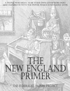 New England Primer Book Cover