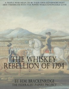 The Whiskey Rebellion of 1794 Book Cover