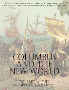 """Columbus And the New World"" by James W. Buel Book Cover"