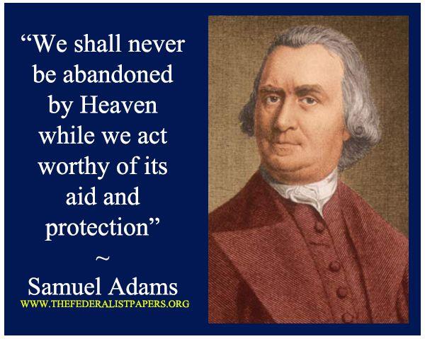 Examples List on Samuel Adams