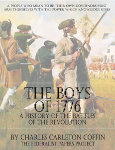 "Get a FREE copy of ""The Boys of 1776"" by Charles Carleton Coffin Book Cover"