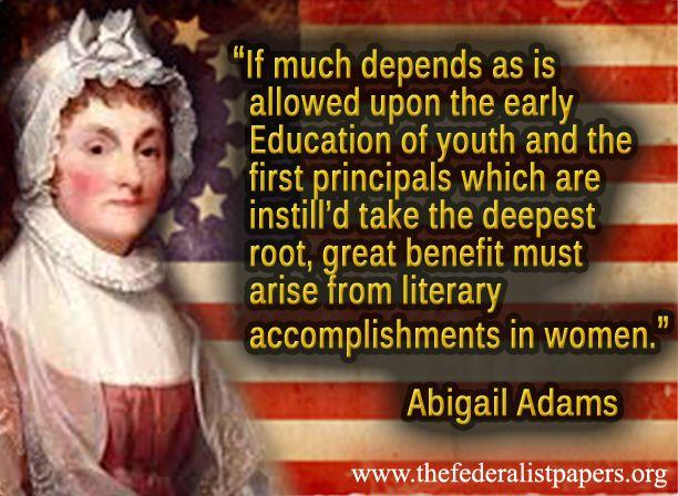 Abigail adams an american woman essay
