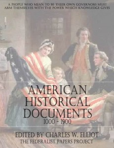 American Historical Documents Book Cover
