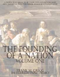 Colonial America Book Cover - Founding of a Nation,