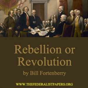 Rebellion of Revolution by Bill Fortenberry