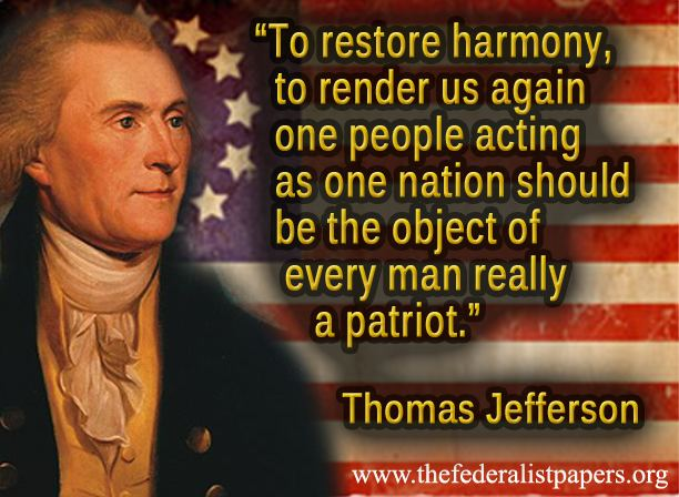 thomas jefferson quote the object of every man really a