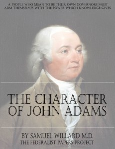 The Character Of John Adams Book Cover