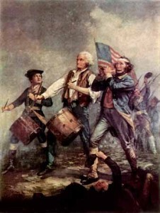 American Revolutionary War fife and drums