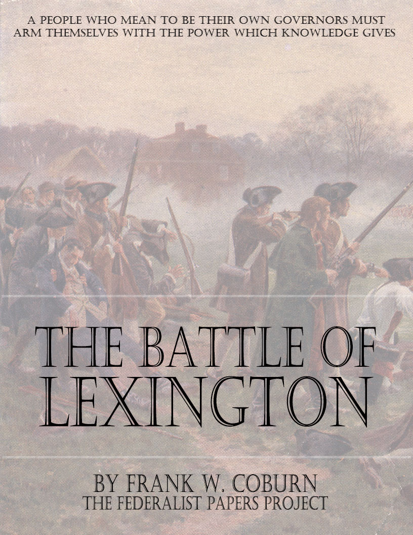 the battles of lexington and concord essay Check out our top free essays on battle of lexington and concord to help you write your own essay.