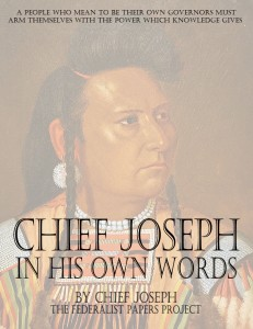 Chief Joseph – In His Own Words Book Cover