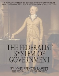 The Federalist System of Government Book Cover