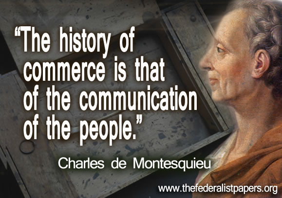 Charles de Montesquieu, The History of Commerce