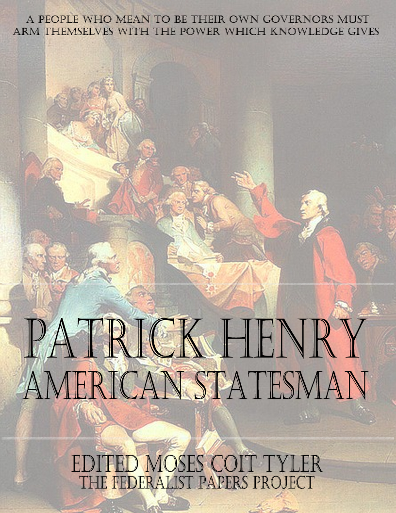 patrick henry rhetorical devices essay Rhetorical analysis of persuasion patrick henry's what rhetorical device does henry use rhetorical analysis of persuasion patrick henry's speech to.