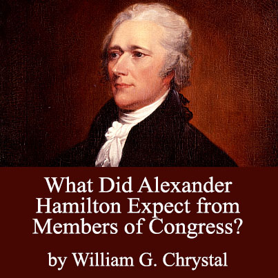 What Did Alexander Hamilton Expect from Members of Congress? - cover image