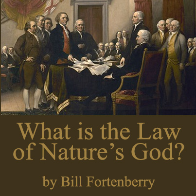 What is the law of Nature's God