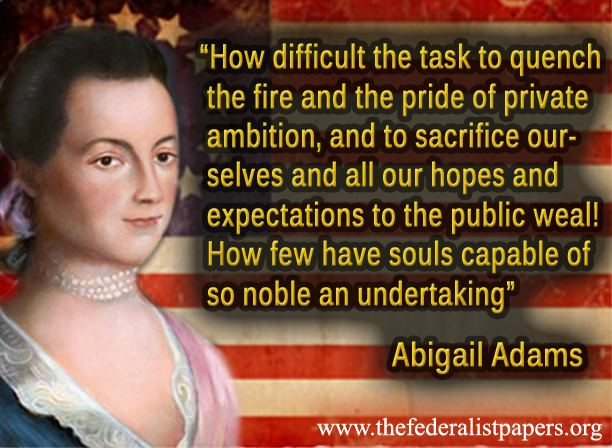 The political interests and influence of abigail on education