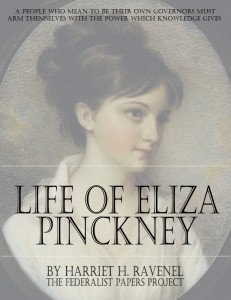 """The Life of Eliza Pinkney"" by Harriet H.Ravenel book cover"