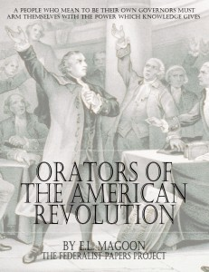 """Orators of the American Revolution"" by E.L. Magoon Book Cover"