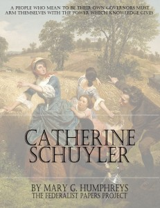 """The Life of Catherine Schuyler"" by Mary G. Humphreys book cover"