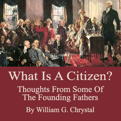 What is a citizen? By William G Chrystal cover image