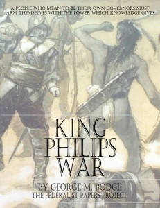 King Philips War by George M. Bodge Book Cover