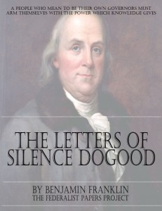 Letters of Silence Dogood Book Cover